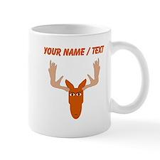 Custom Cartoon Moose Head Mugs