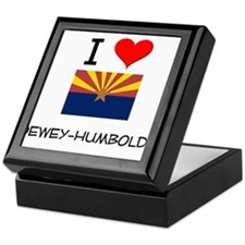 I Love Dewey-Humboldt Arizona Keepsake Box