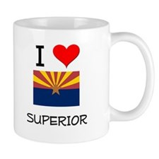 I Love Superior Arizona Mugs
