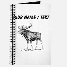 Custom Moose Sketch Journal