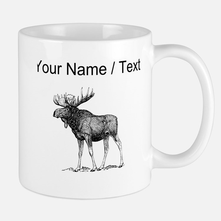 Moose Sketch Gifts & Merchandise