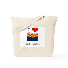 I Love Williams Arizona Tote Bag
