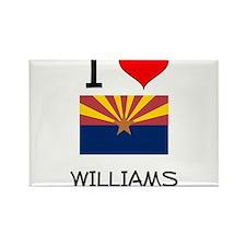 I Love Williams Arizona Magnets
