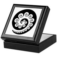 AbOriginalzc Maori Koru Keepsake Box