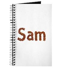 Sam Fall Leaves Journal