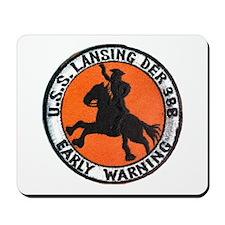 USS LANSING Mousepad