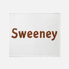 Sweeney Fall Leaves Throw Blanket