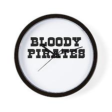 Bloody Wall Clock