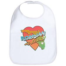 Floridian at Heart Bib