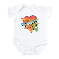 Floridian at Heart Infant Bodysuit