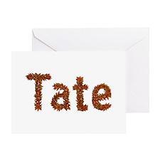 Tate Fall Leaves Greeting Card