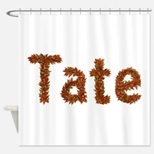 Tate Fall Leaves Shower Curtain