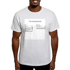 Universal Model Ash Grey T-Shirt