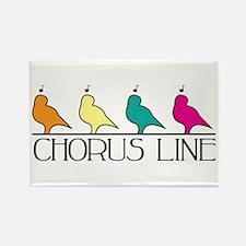 Chorus Line Magnets