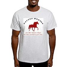 Gaited Horses are like Potato Ash Grey T-Shirt