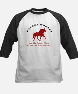 Gaited Horses are like Potato Kids Baseball Jersey
