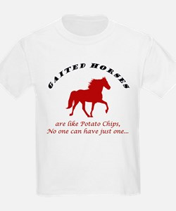 Gaited Horses are like Potato Kids T-Shirt