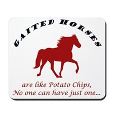 Gaited Horses are like Potato Mousepad