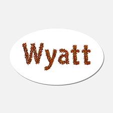 Wyatt Fall Leaves Wall Decal