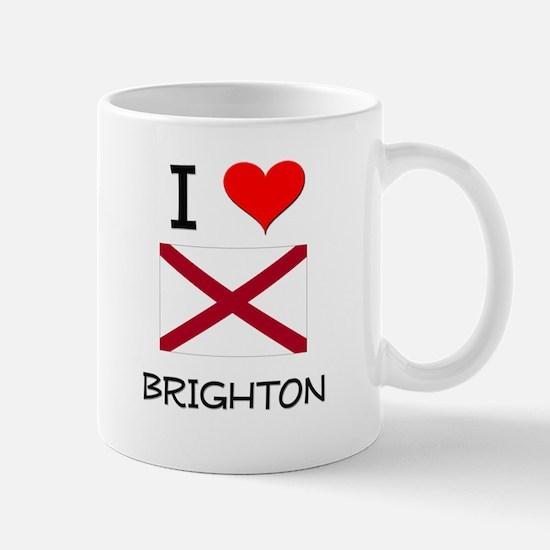 I Love Brighton Alabama Mugs