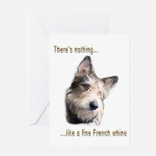 French Whine Greeting Cards