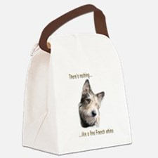 French Whine Canvas Lunch Bag