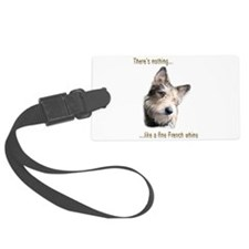 French Whine Luggage Tag