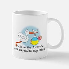 Stork Baby Ukraine Australia Mug
