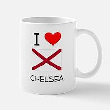 I Love Chelsea Alabama Mugs