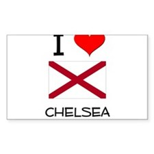 I Love Chelsea Alabama Decal
