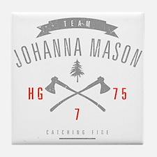 Team Johanna Mason Tile Coaster