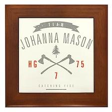 Team Johanna Mason Framed Tile