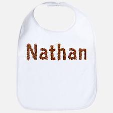Nathan Fall Leaves Bib