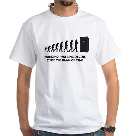 Outhouse Evolution Adult's Tee