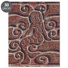 Terra Cota Tile Art Realism  Puzzle