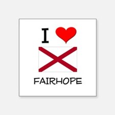 I Love Fairhope Alabama Sticker