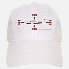 How Planes Fly Baseball Baseball Cap