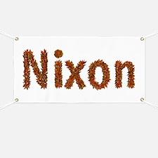 Nixon Fall Leaves Banner