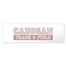 Cadogan Track Bumper Sticker