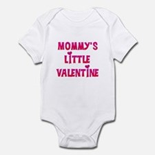 Mommy's Little Valentine Infant Creeper Body S