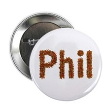 Phil Fall Leaves Button