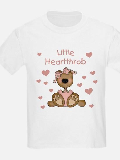 Little Heartthrob (girl) Kids T-Shirt