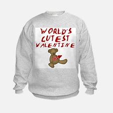 World's Cutest Valentine Sweatshirt