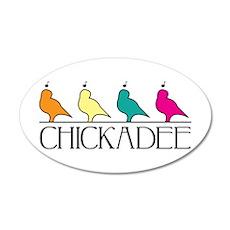 Chickadee Wall Decal