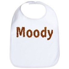 Moody Fall Leaves Bib