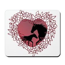 MareNFoal Heart Mousepad