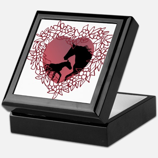 MareNFoal Heart Keepsake Box