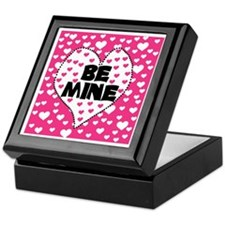 Be Mine Valentine's Day Keepsake Box