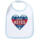 Vote Alan Keyes 2008 Political Bib