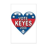 Vote Alan Keyes 2008 Political Mini Poster Print